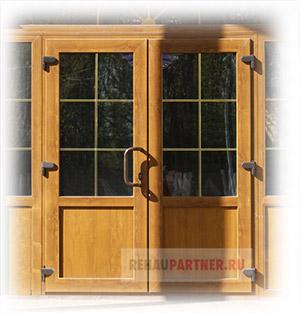 Двери из ПВХ профиля