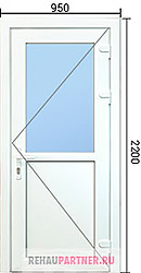 Стоимость дверей ПВХ