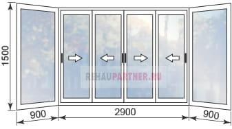 Цены на алюминиевые окна на балкон