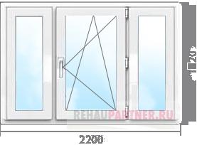Теплые алюминиевые окна цена
