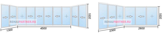 Остекление балконов 6 метров по низким ценам