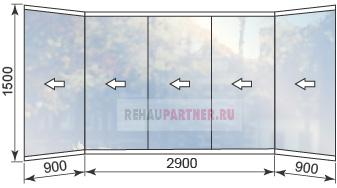 Цены на безрамное остекление балконов