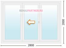 Цена на раздвижные пластиковые двери