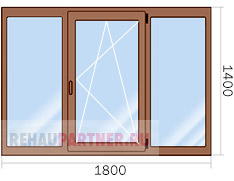 Цены на деревянные окна со стеклопакетом в Москве