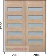 Купить двери-купе для гардеробной в Москве