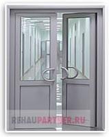 Характеристики алюминиевых дверей