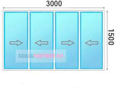 Цены на холодное остекление алюминиевым профилем