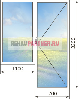 Цена на окна из профиля KBE Energy