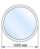 Цены на круглые окна