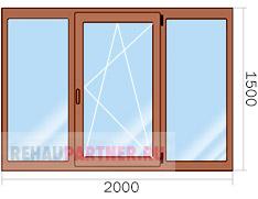 Цена на пластиковые окна с ламинацией