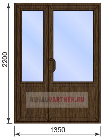Цены на ламинированные двери ПВХ