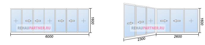 Остекление лоджий 6 метров по низкой цене