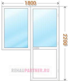 Стоимость пластиковых окон и дверей с монтажом