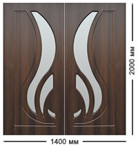 Цена на навесные двери