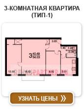 3-комнатная квартира (тип-1)