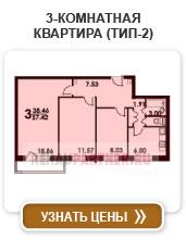 3-комнатная квартира (тип-2)