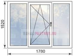 Цены на окна ПВХ в домах серии 1-515-9М
