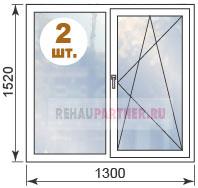 Цены на окна для квартир в домах 1605-12