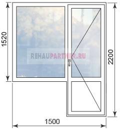 Цены на пластиковые окна в домах 1605-12