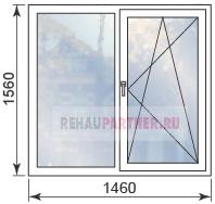 Цены на пластиковые окна для домов 1605-9
