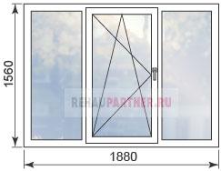 Стоимость остекления в домах 1605-9