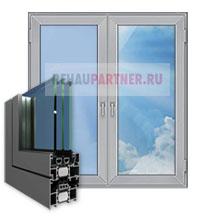 Алюминиевые окна для кирпичного дома