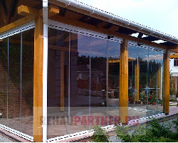 Панорамные окна для террасы