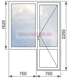 Цены на окна для домов серии И-209А