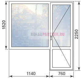 Цены на пластиковые окна Rehau