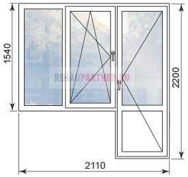 Цены на окна в домах серии И-522А