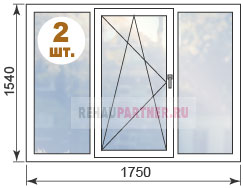 Цены на пластиковые окна в домах И-522А