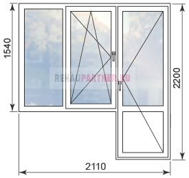 Цены на окна в домах серии И-700А