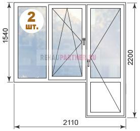 Стоимость остекления квартир в домах И-700А