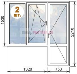 Цены на пластиковые окна в домах II-18
