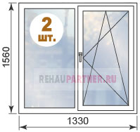 Цены на окна ПВХ в домах II-29