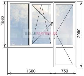 Цены на пластиковые окна в домах серии II-29
