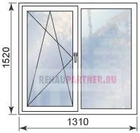 Цены на окна для однокомнатной квартиры в панельном доме II-49