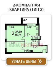 2-комнатная квартира (тип 2)