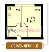 1-комнатная квартира (план 1)
