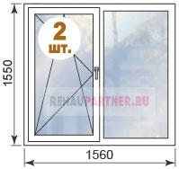 Цены на окна в домах типовой серии II-68-3