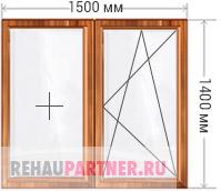 Деревянные окна из лиственницы цены