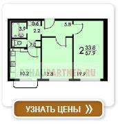 2-комнатная квартира тип 1