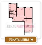 3-комнатная квартира тип 1