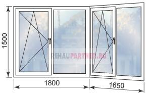 Цены на остекление балкона пластиковыми окнами