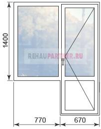Купить окна для дома серии П-3