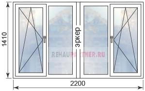 Цены на пластиковые окна в домах П-44М