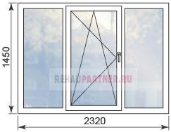 Цены на окна в домах П-3 М