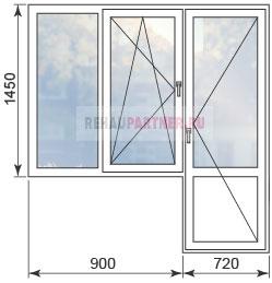 Цены на окна в домах П3М