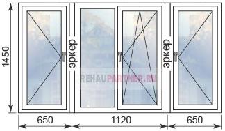 Цены на пластиковые окна в домах П-3М