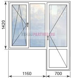 Цены на окна в домах П 44Т